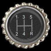 Speed Zone Elements Kit- Gear Shift Bottle Cap
