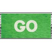 "Speed Zone Elements Kit- ""Go"" Label"