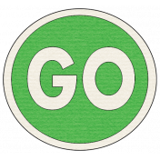 """Speed Zone Elements Kit- """"Go"""" Sign"""