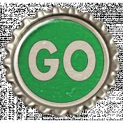 "Speed Zone Elements Kit- ""Go"" Bottle Cap"