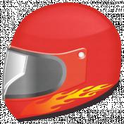 Speed Zone- Racing Helmet