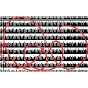 Speed Zone- Red String