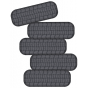 Speed Zone Elements Kit- Stack of Tyres