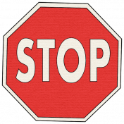 Speed Zone Elements Kit- Stop Sign