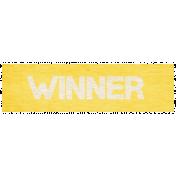 """Speed Zone Elements Kit- """"Winner"""" Label"""