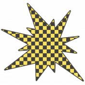 Speed Zone Elements Kit- Checkered Bomb
