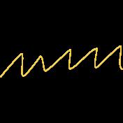 Speed Zone Elements Kit- Yellow Zig-Zag String