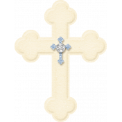 My Baptism- Paper Cross