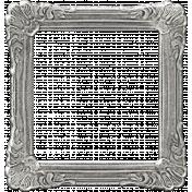 My Baptism- Silver Ornate Frame
