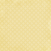 My Baptism- Yellow Dots & Crosses Paper