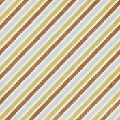 My Baptism- Stripes Paper