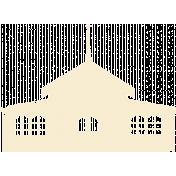 My Baptism- Church Stamp