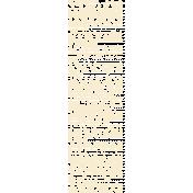 My Baptism- Bible Scripture Stamp