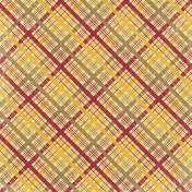 Turkey Time- Crisscross Gingham02 Paper