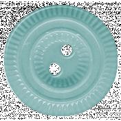 Turkey Time- Blue Button