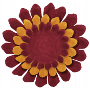 Turkey Time Elements Kit- Burgandy and Gold Flower