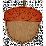 Turkey Time Elements Kit- Burnt Orange Acorn