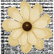 Turkey Time Elements Kit- Cream Flower