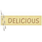 "Turkey Time Elements Kit- ""Delicious"" Label"