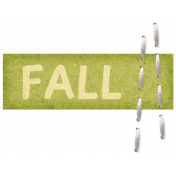 "Turkey Time Elements Kit- ""Fall"" Label"