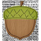 Turkey Time- Green Acorn