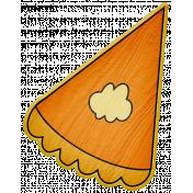 Turkey Time- Pumpkin Pie Slice