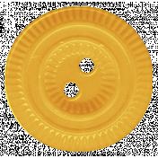 Turkey Time- Yellow Button