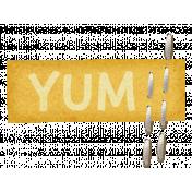Turkey Time- Yum Label