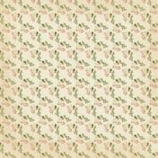 Vintage- November Blogtrain Floral Paper 01