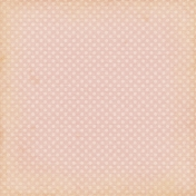 Vintage- November Blogtrain Pink Polka Dot Paper