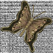 Vintage- November Blogtrain Butterfly
