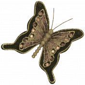 Vintage- November Blogtrain Butterfly