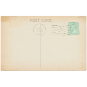 Vintage- November Blogtrain Postcard