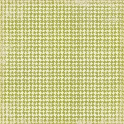 Thankful- Green Houndstooth Paper