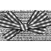 Thankful- Black Gingham Ribbon