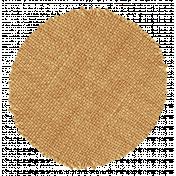 Thankful- Burlap Circle