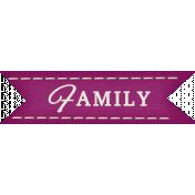 Thankful- Family Tag