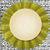 Thankful- Green Accordian Tag