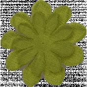 Thankful- Green Flower
