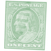 Vintage- November Blogtrain Teal Stamp