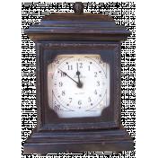 Vintage- November Blogtrain Clock