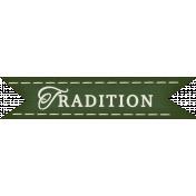 Thankful- Tradition Tag