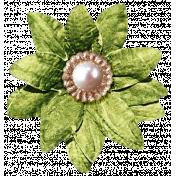 It's Christmas- Green Flower