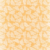 Simple Pleasures- Orange Ornamental Paper