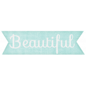 Simple Pleasures- Beautiful Tag