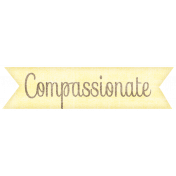 Simple Pleasures- Compassionate Tag