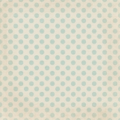Sweet Valentine- Big Blue Polka Dots Paper