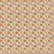 Sweet Valentine- Whimsical Heart Doodles Paper