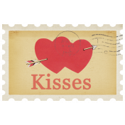 Sweet Valentine- Kisses Stamp
