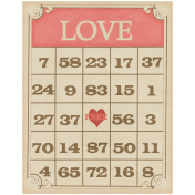 Sweet Valentine- Love Bingo Card